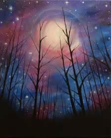 Galaxy Lights Best 25 Night Sky Painting Ideas On Pinterest Space