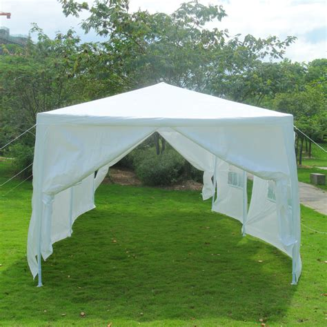 white gazebo 10 x30 outdoor canopy wedding tent white gazebo