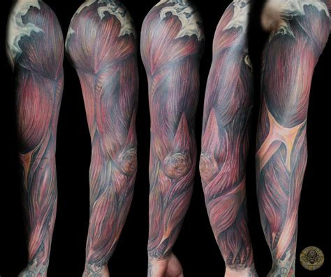 tattoo arm muscle muscle armsleeve tat finish by 2face tattoo on deviantart