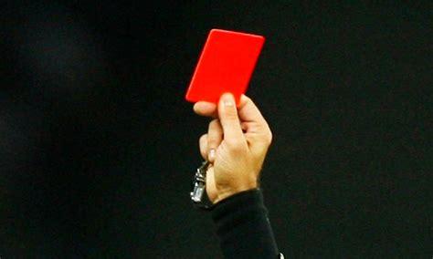 Kartu Wasit Merah Dan Kuning Terlaris 10 kartu merah tercepat dalam sejarah sepak bola time to