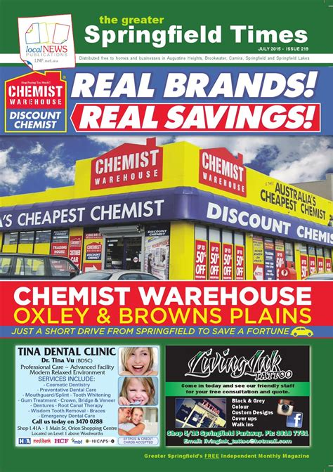 tattoo goo chemist warehouse the greater springfield times july 2015 by wren