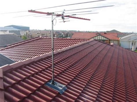 roof antennas 1byone 80 digital lified outdoor roof hdtv antenna extremely high