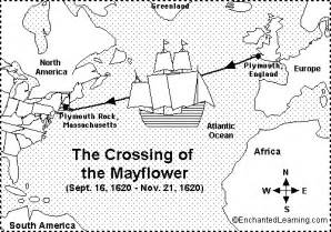 Maps Of The Route Mayflower Voyage Pilgrims Sketch Coloring Page sketch template