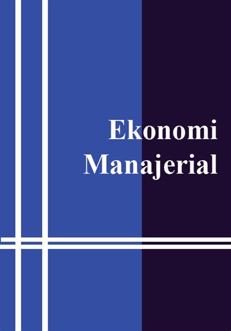 Applied Economics Aplikasi Ilmu Ekonomi 2 ekonomi manajerial fianda ambri