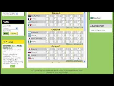 resultados mundial 243 sticos y resultados en vivo mundial 2010