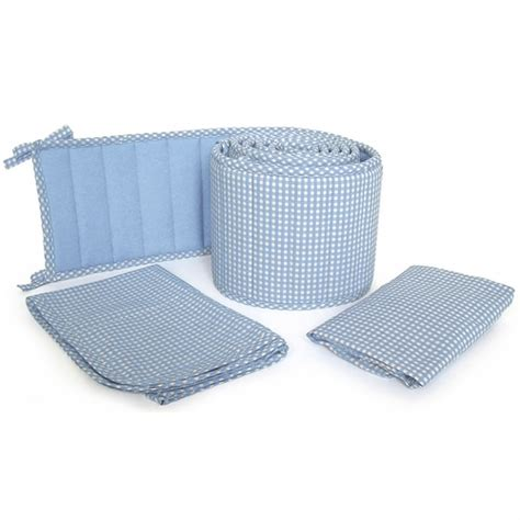 Blue Gingham Crib Bedding Sleeping Partners Tadpoles Classics Blue Gingham Crib Bedding Collection Free Shipping