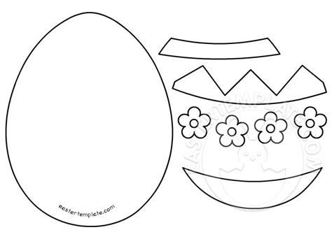 Felt Egg Pattern | felt easter egg pattern easter template