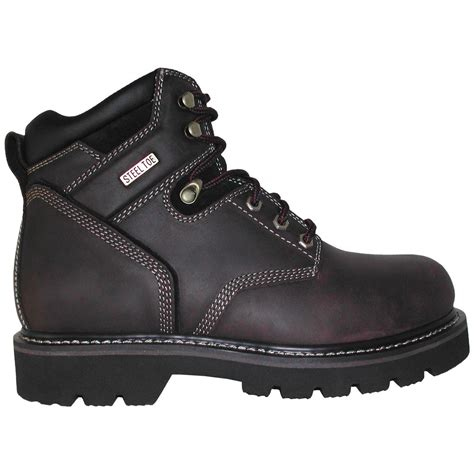 s western chief 174 7 quot work boots brown 104909 work