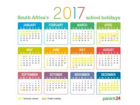 Calendar 2018 South Africa With Holidays Printable 2017 School Holidays In South Africa Calendar