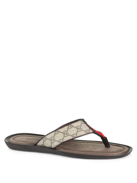 gucci sandals gucci sandal in gray for lyst