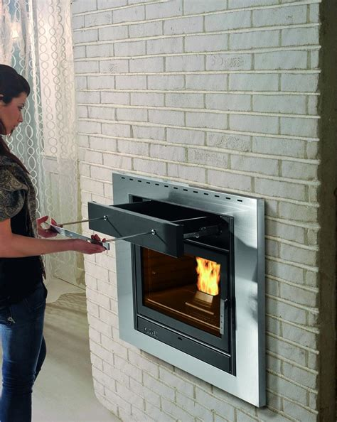 pellet stove fireplace insert used images