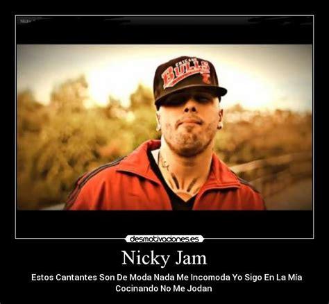 imagenes de nicky jam con frases nicky jam desmotivaciones