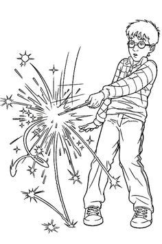 coloring pages of harry potter wands harry potter birthday card crafty things pinterest