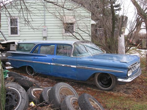 1959 Chevrolet Parkwood 4 Door Station Wagon 6 Passenger