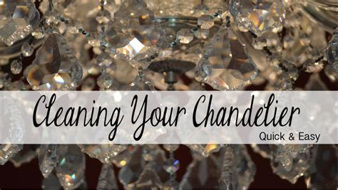 How To Clean Your Chandelier Recipes Home Decor Diy Chandelier Cleaner Recipe