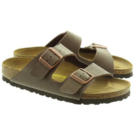 Sandal Wanita New Chaty Heel Sandals Brown Mocca Hr01 birkenstock arizona 2 bar buckle mule sandals in mocca in mocca
