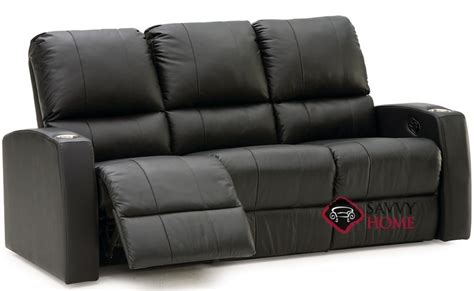 compact leather recliner pacifico leather sofa by palliser is fully customizable by