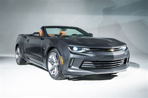 first chevy camaro 2016 chevrolet camaro convertible first look review