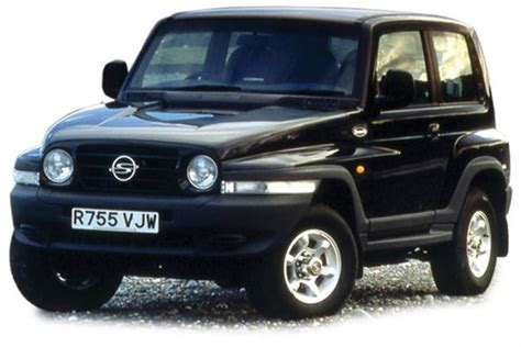 SsangYong Korando Station Wagon (from 1997) used prices