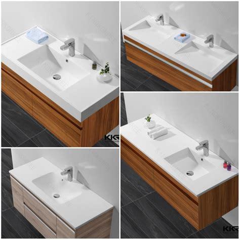 restaurant bathroom sinks kingkonree small size integral bathroom vanity sink pink
