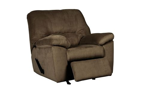 microfiber rocking recliner cafe microfiber rocker recliner at gardner white