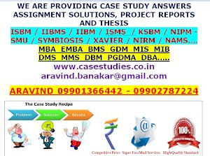 Iibms Mba Certificate by Study Answers Statistical Quality