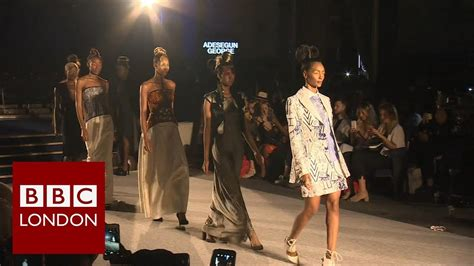 in pictures africa fashion week london 2013 bbc news african fashion week bbc london news youtube