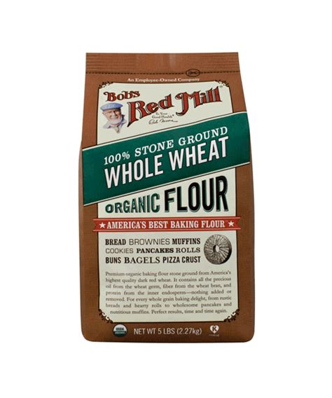 producers organic wheat flour millers stone ground bob s red mill 100 stone ground organic whole wheat flour
