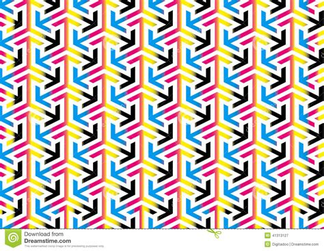 object pattern background abstract cmyk arrows pattern background textures stock