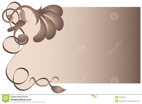 brown floral and swirl background stock photo image 1610540