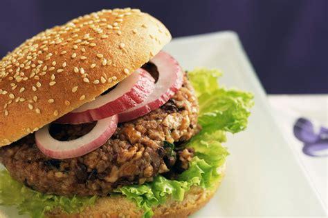 mushroom veggie burger recipe vegan and gluten free