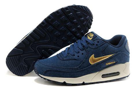Nike Airmax 90 Denim Gold Premium nike air max 90 blue gold