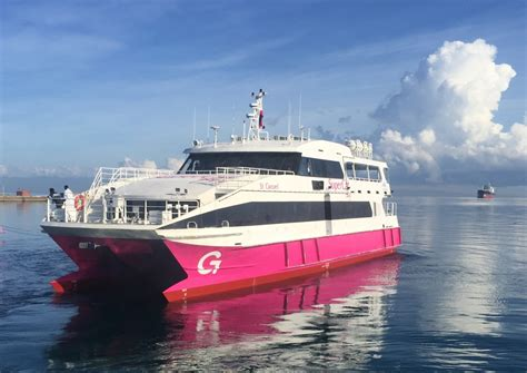 catamaran ferry speed austal delivers first of two high speed passenger ferries
