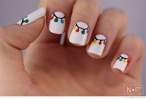 Ongle Simple by Deco Ongle Noel Facile