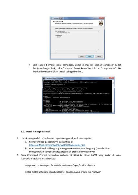 laravel tutorial linux tutorial dasar laravel