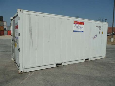 Freezer Container 20 20ft refrigerated container container technology inc