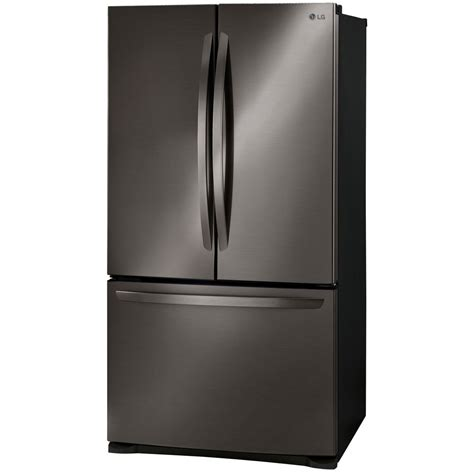 lg cabinet depth refrigerator lfc21776d lg appliances 21 counter depth french door