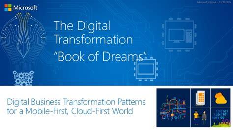 Microsoft Login Uk Digital Transformation Quot Book Of Dreams Quot