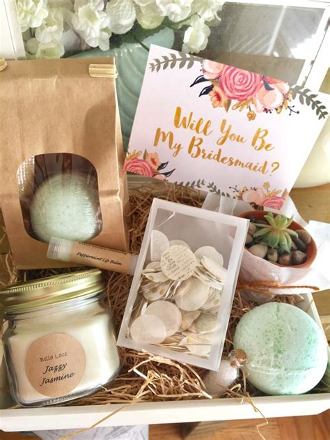 Handmade Bridesmaid Gifts - 1000 ideas about bridesmaid gifts on wedding
