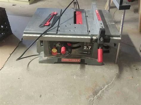Craftsman Table Saw Motor by Find More Craftsman Table Saw Needs A Motor For Sale At
