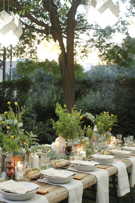 Ideas For Cocktail Parties - gorgeous garden party with lzf lamps ems designblogg
