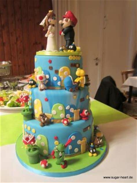 Hochzeitstorte Cool by Hochzeitstorte Mit Mario Und Co Motivtorten
