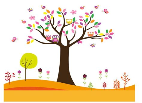 wallpaper cartoon tree owl inspiration work stuff pinterest owl cartoon