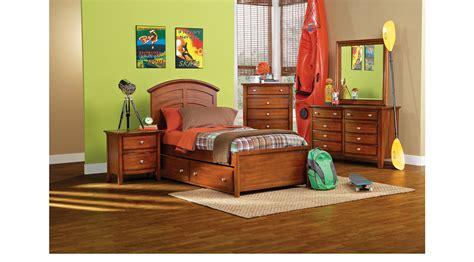 twin bedroom sets for boys bedroom at real estate santa cruz cherry 5 pc twin panel bedroom