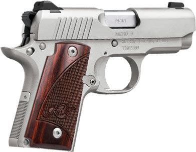 kimber 3300158 micro 9 stainless pistol 9mm, 3.15 in