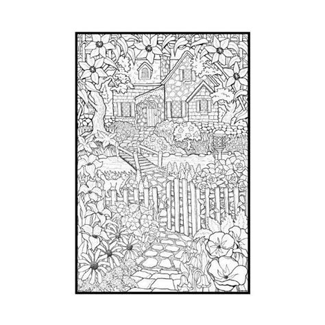nature themed coloring pages detailed coloring pages for adults backyard animals and