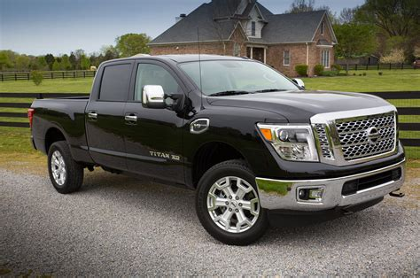 nissan tittan 2016 nissan titan xd gas drive taking on another
