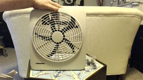 roadpro rp8000 12 volt battery operated 10 portable fan unboxing roadpro rp73002 10 quot 12v or battery dual power