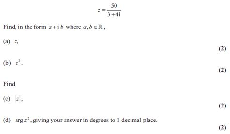 tutorial questions on complex numbers exam questions complex numbers examsolutions