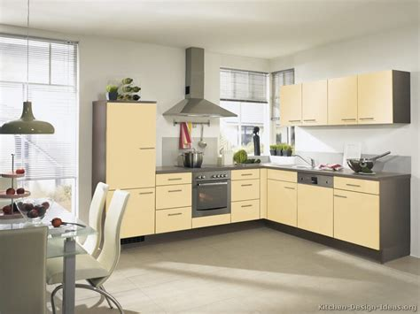 Two Tone Kitchen Cabinet Ideas by Pictures Of Modern Yellow Kitchens Gallery Amp Design Ideas